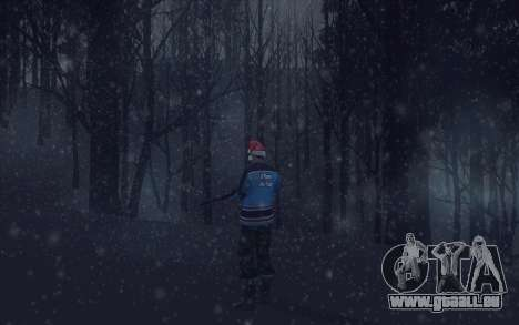 Winter Vacation 2.0 SA-MP Edition für GTA San Andreas achten Screenshot