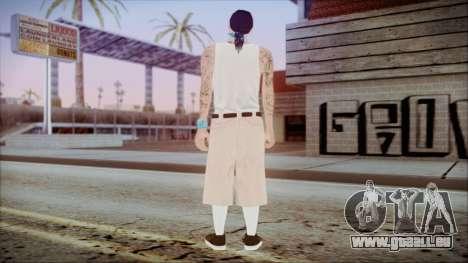 GTA 5 LS Vagos 1 pour GTA San Andreas troisième écran