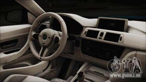 BMW M4 2014 Liberty Walk pour GTA San Andreas vue de droite