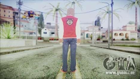 GTA Online Skin 34 pour GTA San Andreas troisième écran