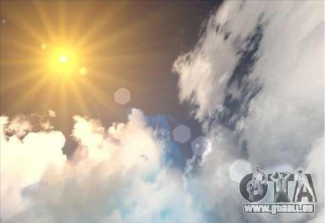 SkyBox and Lensflare pour GTA San Andreas deuxième écran