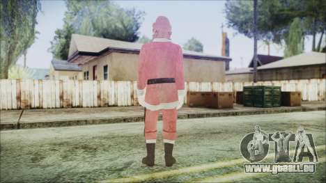 GTA 5 Santa afro-Américaine pour GTA San Andreas troisième écran
