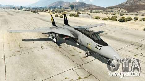 Grumman F-14D Super Tomcat Redux pour GTA 5