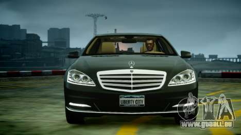 Mercedes-Benz S600 2011 für GTA 4 hinten links Ansicht