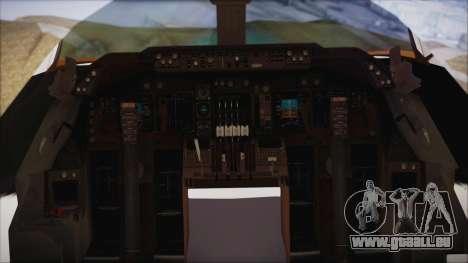 Boeing 747-237Bs Air India Mahendra Verman für GTA San Andreas rechten Ansicht