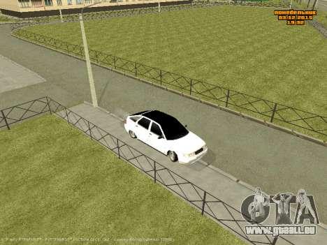 Les VASES 2112 Bunker 0.2 v pour GTA San Andreas sur la vue arrière gauche