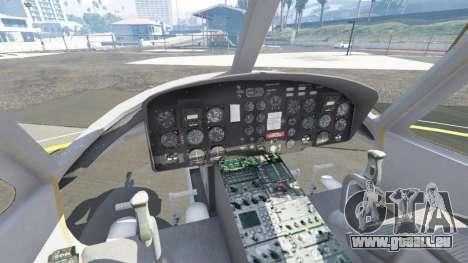 GTA 5 Bell UH-1D Iroquois Huey Gunship fünfter Screenshot