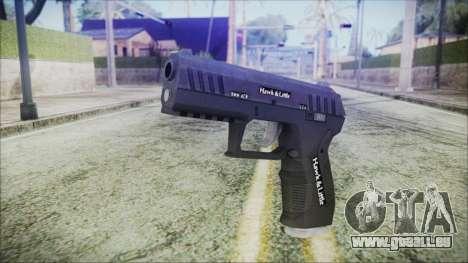 GTA 5 Combat Pistol v2 - Misterix 4 Weapons für GTA San Andreas