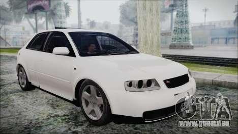 Audi A3 1.8 S3 pour GTA San Andreas