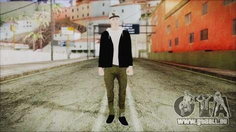 GTA Online Skin 37 pour GTA San Andreas deuxième écran