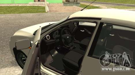 Lada Kalina 2 - Granta pour GTA San Andreas sur la vue arrière gauche