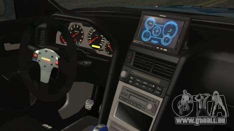 Nissan Skyline R34 Itasha für GTA San Andreas rechten Ansicht