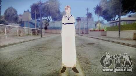 DMC4 Kyrie pour GTA San Andreas deuxième écran