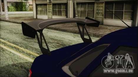 VAZ 2110 Sport pour GTA San Andreas vue arrière