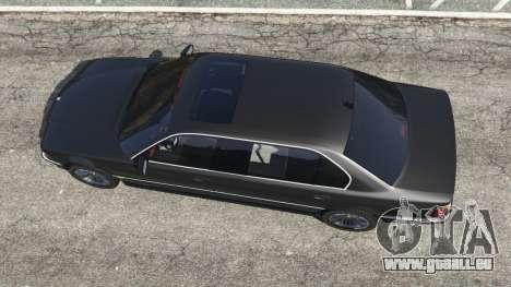 BMW L7 750iL (E38) pour GTA 5