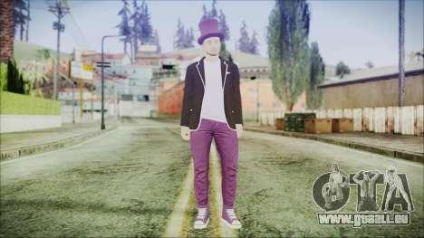 GTA Online Skin 20 pour GTA San Andreas deuxième écran