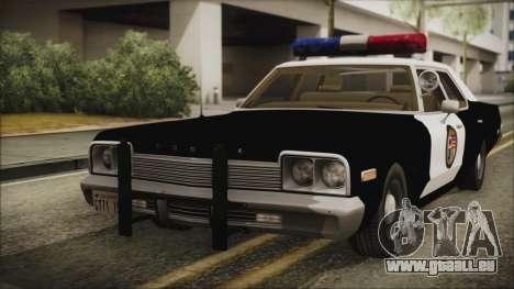 Dodge Monaco 1974 LSPD IVF pour GTA San Andreas