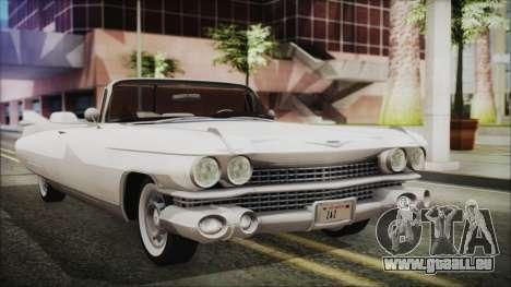 Cadillac Eldorado Biarritz 1959 für GTA San Andreas