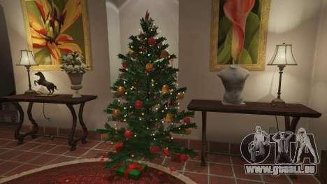 GTA 5 Décorations de noël pour la maison Michael sixième capture d'écran