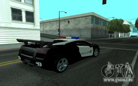 Lamborghini Gallardo Tunable für GTA San Andreas rechten Ansicht