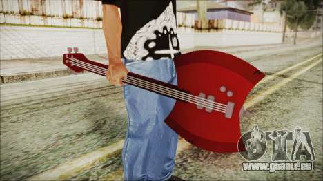 Axe Bass Marceline from Adventure Time für GTA San Andreas