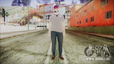 GTA Online Skin 1 pour GTA San Andreas deuxième écran