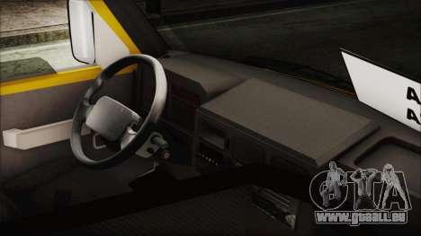 Iveco Turbo Daily Flota Valle De Tenza pour GTA San Andreas sur la vue arrière gauche