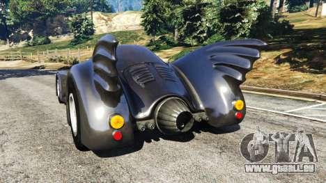 Batmobile 1989 [Beta] pour GTA 5