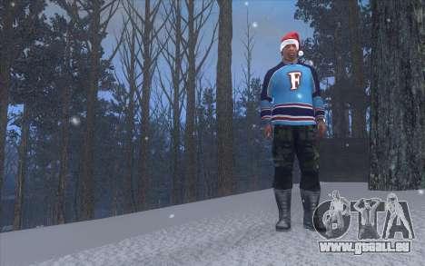 Winter Vacation 2.0 SA-MP Edition pour GTA San Andreas troisième écran