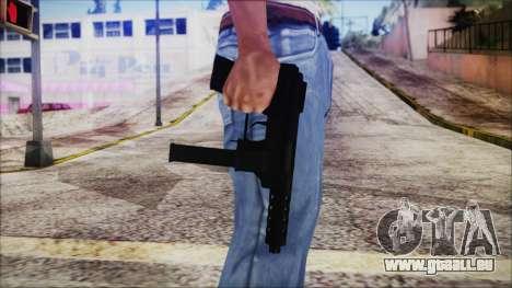 TEC-9 pour GTA San Andreas troisième écran
