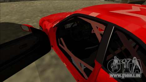 Nissan Skyline R33 Drift Red Star für GTA San Andreas Innen