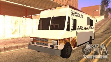 Sate Ayam (Chicken Satay) Van für GTA San Andreas Rückansicht