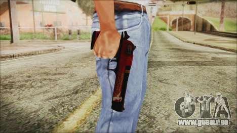 Xmas Desert Eagle pour GTA San Andreas troisième écran