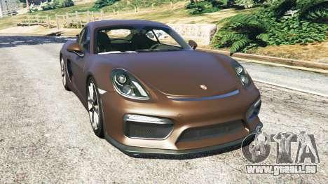 Porsche Cayman GT4 2016 v1.1 für GTA 5