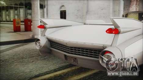 Cadillac Eldorado Biarritz 1959 pour GTA San Andreas vue arrière