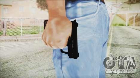 GTA 5 SNS Pistol - Misterix 4 pour GTA San Andreas troisième écran