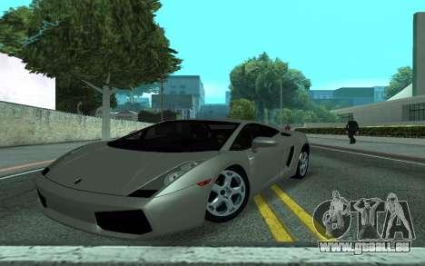 Lamborghini Gallardo Tunable für GTA San Andreas