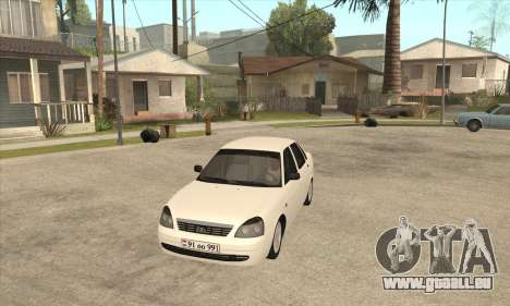 Lada Priora Armenian pour GTA San Andreas