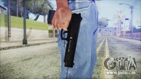 GTA 5 Pistol .50 v2 - Misterix 4 Weapons für GTA San Andreas dritten Screenshot