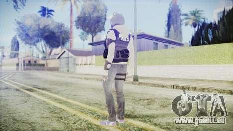Rainbow Six Siege GSG9 IQ pour GTA San Andreas troisième écran