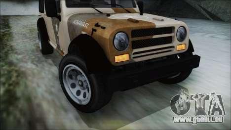 GTA 5 Canis Crusader IVF pour GTA San Andreas vue de droite