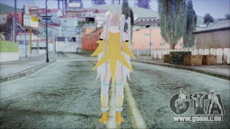 DoA5 LR Marie Rose Schoolgirl Striker Blonde pour GTA San Andreas troisième écran