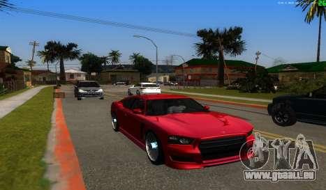 Il n'y a pas de meilleure façon pour GTA San Andreas cinquième écran