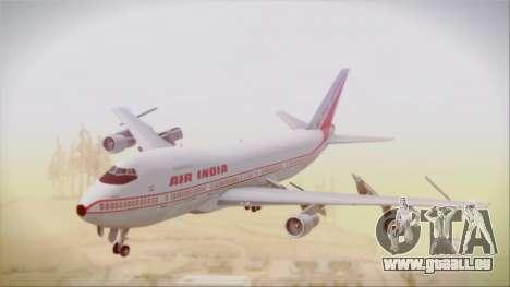 Boeing 747-237Bs Air India Akbar pour GTA San Andreas