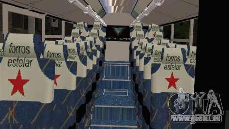 Lazcity Midibus Stylo Colombia pour GTA San Andreas vue de droite