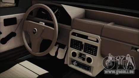 Fiat Uno Fire Tuning pour GTA San Andreas vue de droite