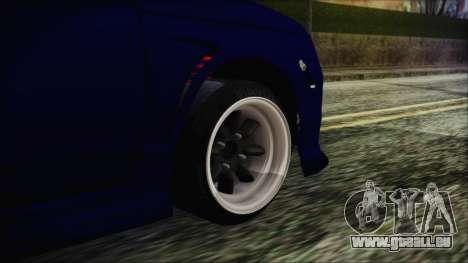 VAZ 2110 Sport pour GTA San Andreas sur la vue arrière gauche