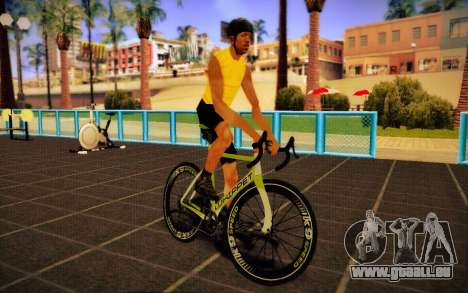 GTA 5 Whippet Race Bike für GTA San Andreas zurück linke Ansicht