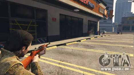 .30 Cal M1 Carbine Rifle pour GTA 5