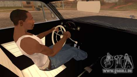 GTA 5 Declasse Clean Voodoo Hydra Version IVF pour GTA San Andreas sur la vue arrière gauche